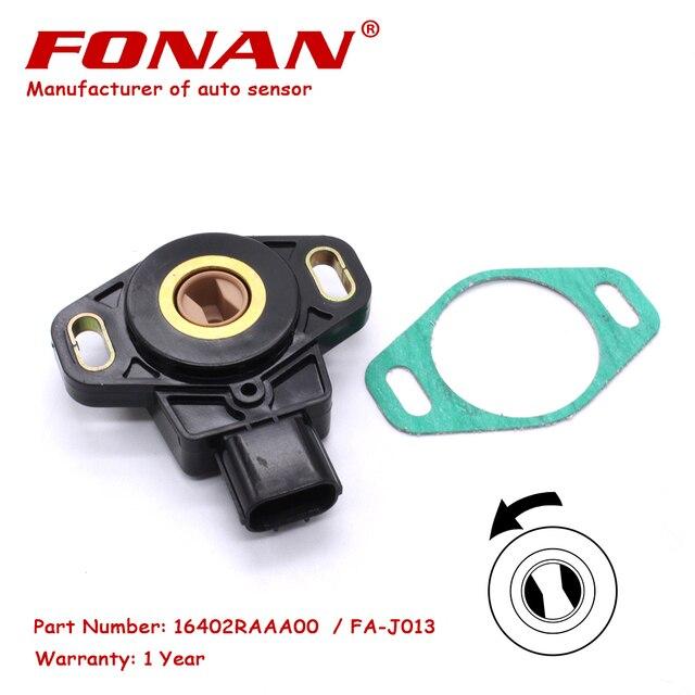 De alta calidad de TPS Sensor de posición del acelerador para HONDA Civic Serie K CR-V acuerdo de 2,0 elemento 2,4 litro 16402-RAA-A00 16402RAAA00