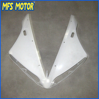 Unpainted ABS Injection Upper Nose Fairing For YAMAHA 98 99 YZF R1 1998 1999 YZF R1 Motorcycle