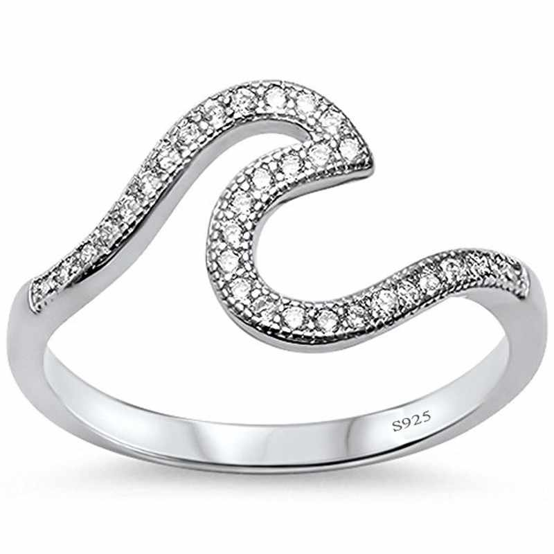 Choucong популярное Настоящее однотонное 925 пробы Серебряное кольцо AAAAA Циркон Обручальное кольцо кольца для мужчин и женщин Bijoux