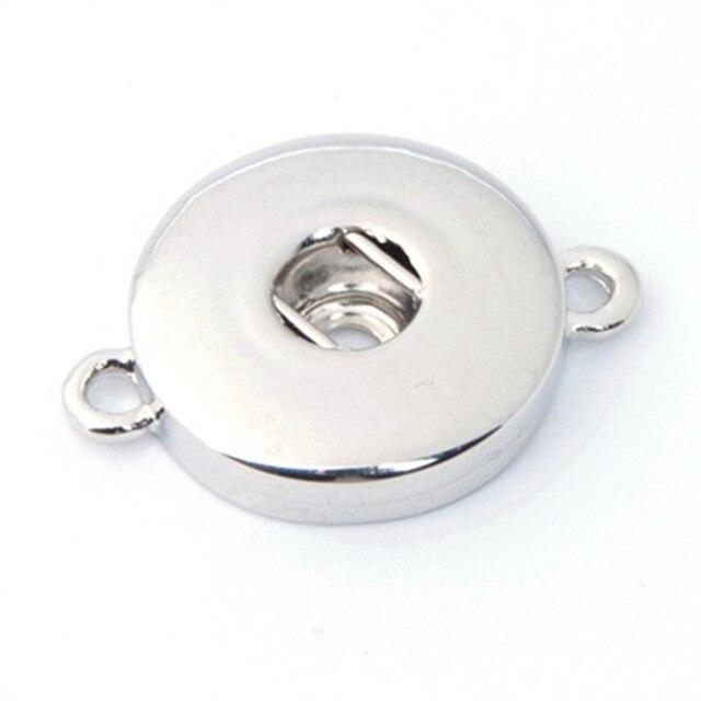 10 cái/lốc Hoán Đổi Cho Nhau DIY Charm Snap Buttons 18 mét/12 mét Snap Jewelry Finding Cho Làm Cho Nút Snap Vòng Tay vòng cổ ZM004