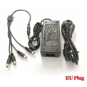 Image 3 - HKIXDISTE 12V 5A 4 Port CCTV Camera AC Adapter Power Supply Box For The CCTV Camera