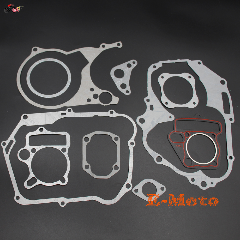Gasket Set 125CC <font><b>ENGINE</b></font> DIRT BIKE SSR SDG <font><b>LIFAN</b></font> <font><b>110CC</b></font> 125CC 138CC new E-Moto image