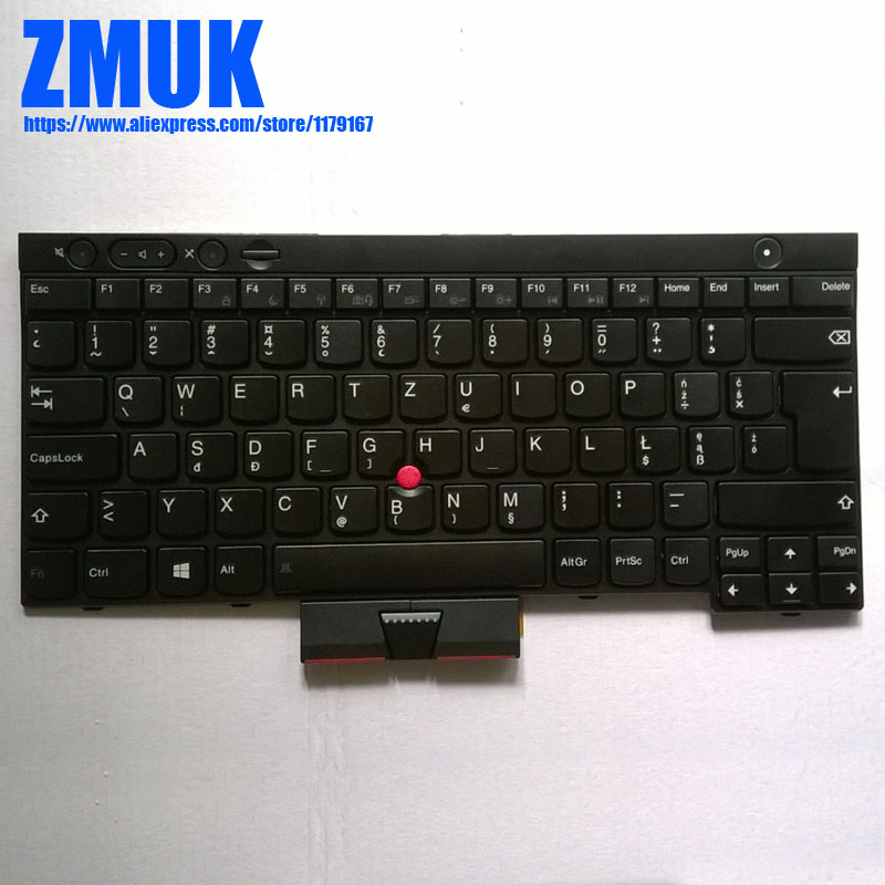 New Original Poland Keyboard For Lenovo Thinkpad X230 X230I T430S T530 W530 L430-14