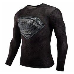 2017 new spiderman superman captain america compression shirt superhero soldier marvel comics mens long sleeve 3d.jpg 250x250
