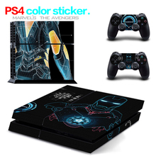 Hot Sale MA17 for PS4 Skin 1 Set Body Skins For Play station 4 Sticker Decal Cover + 2 Controller Sticker ps4 accessories