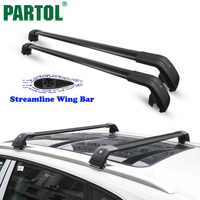 Partol Car Roof Rack Cross Bars Roof Luggage Carrier Roof Rail Bike Rack For Volvo XC60