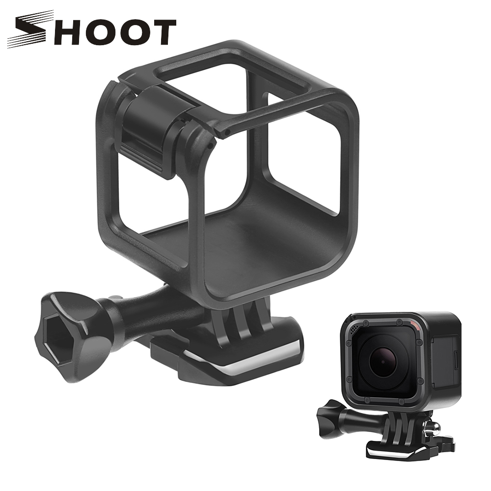 SHOOT Standard Border Protector Protective Frame Case For Gopro Hero 4 Plus Hero 5 Session Go Pro Action Camera Accessories(China)