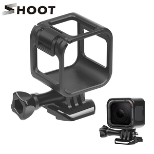 Image 1 - SHOOT Standard Border Protector Protective Frame Case For Gopro Hero 4 plus Hero 5 Session Go Pro Action Camera Accessories