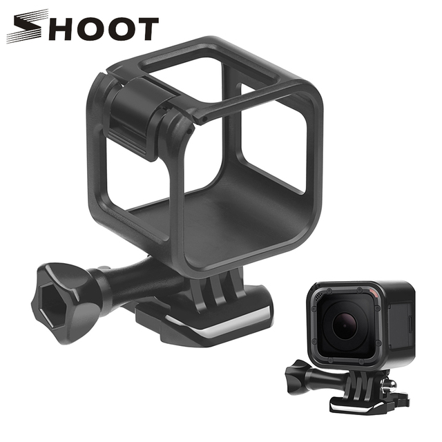 SHOOT Standard Border Protector Protective Frame Case For Gopro Hero 4 plus Hero 5 Session Go Pro Action Camera Accessories