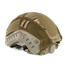 Тактический военный шлем, Маскировочный чехол, страйкбол, пейнтбол, шлем для съемки, аксессуар для быстрого MH/PJ шлема, Новинка