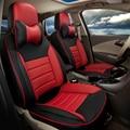 PU кожаное сиденье охватывает пользовательские пригодный для volkswagen vw scirocco автомобиль обложка сиденья поддержка вентилируемых подушки автомобиля полный набор автомобилей мест