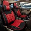 Pu asiento de cuero cubre ajuste personalizado para volkswagen vw scirocco soporta ventilado coche cojín del asiento cubierta del coche conjunto completo de coche asientos