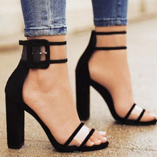 2018 shoes Women Summer Shoes T-stage Fashion Dancing High Heel Sandals Sexy Stiletto Party Wedding White Black 2258W
