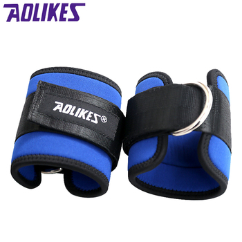 AOLIKES 2 Sztuk/partia Kostki Pasy Nóg Trening Siłowy Waga nośna Moc Pas Footable Taekwondo Stóp Pierścień Dla Fitness Bieganie