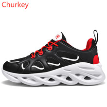 Men Sports Shoes Outdoor Hiking Comfortable Breathable Mesh Fashion Casual Running Sneakers