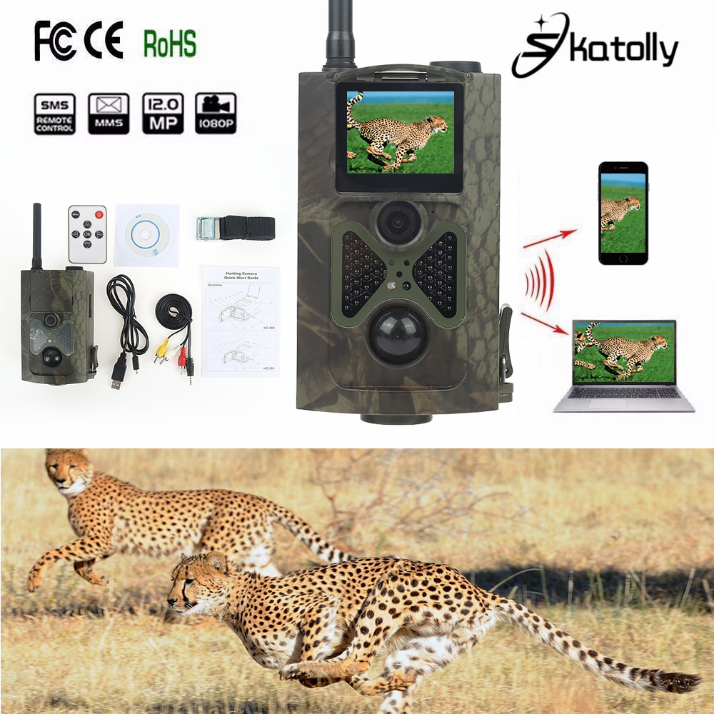 Skatolly Brand 1*HC500M HD Hunting Trail Cam HC-500M Trap Night Vision Motion Hunting Video Camera CE ROHS Free shipping! топор truper hc 1 1 4f 14951