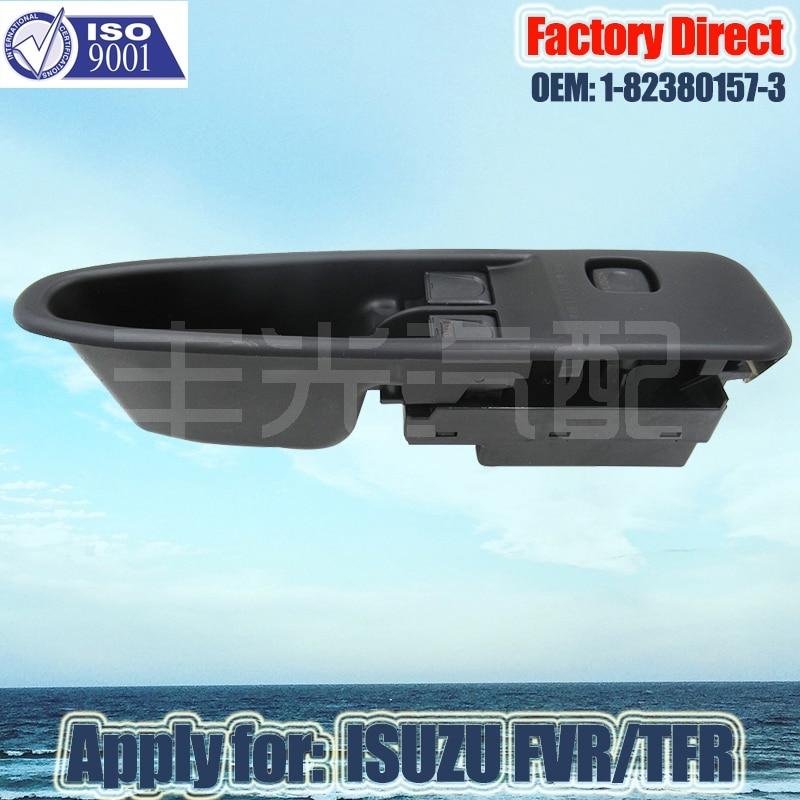 Factory Direct LHD Auto Power Window Switch Apply For ISUZU FVR/TFR Auto Window Switch 1-82380157-3  1823801573