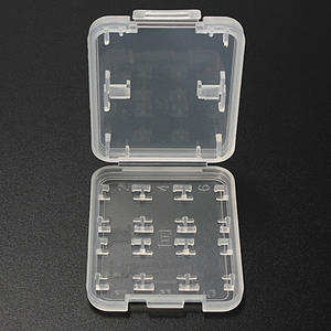 Protector-Holder Case Memory-Card Store-Box Hard-Plastic Micro-Sd for SDHC TF MS Stick