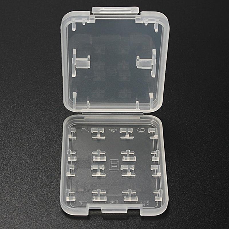 8 en 1 plástico duro tarjeta de almacenamiento TF tarjeta Micro SD tienda  caja protectora titular caso para SD SDHC TF MS stick 7f51f544929