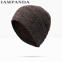 New Pattern Han Banchao Male Increase Down Set Head Cap Woman Keep Warm Wool Hats Autumn