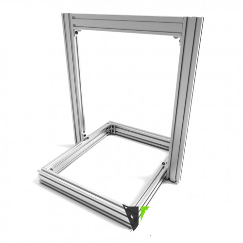 Quality AM8 3D Printer Extrusion Metal Frame Full Kit for Anet A8 upgrade Natural Or Black