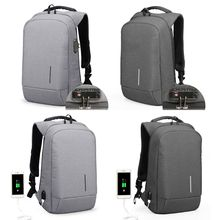2019 New Men Anti-Theft Business Travel Computer Bag Laptop Backpack 15.6 with USB Charging Port
