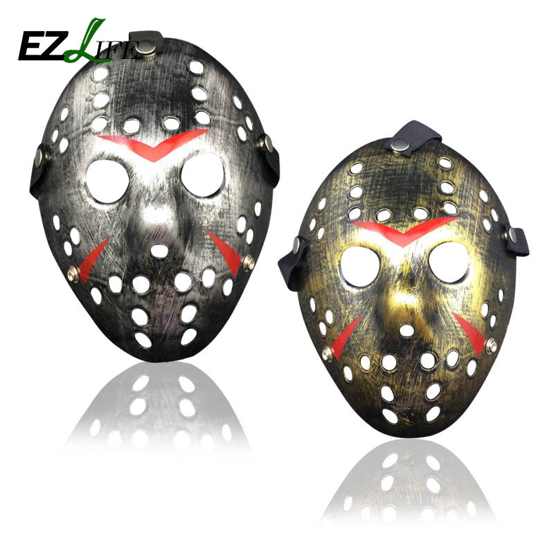 new make old cosplay halloween mask jason voorhees freddy hockey festival party halloween masquerade mask ct0253