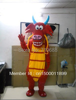 Adulto drago mascotte in vendita drago Mascotte Costume Del Carattere Del Costume drago Cosplay Spedizione Gratuita