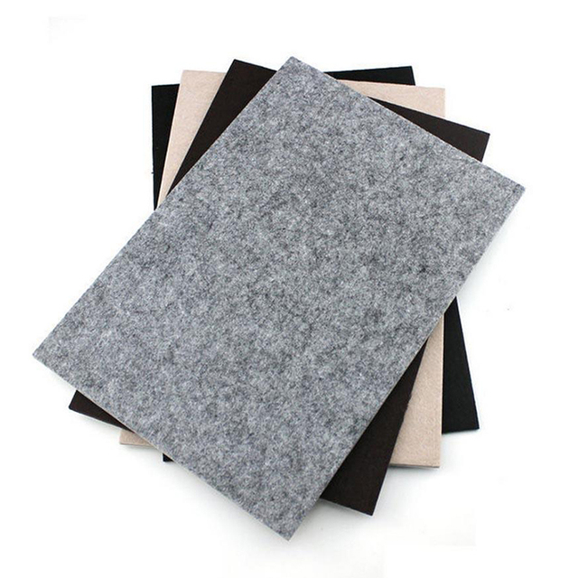 Mayitr Self Adhesive Square Felt Pads Furniture Floor Scratch Protector Diy Accessories
