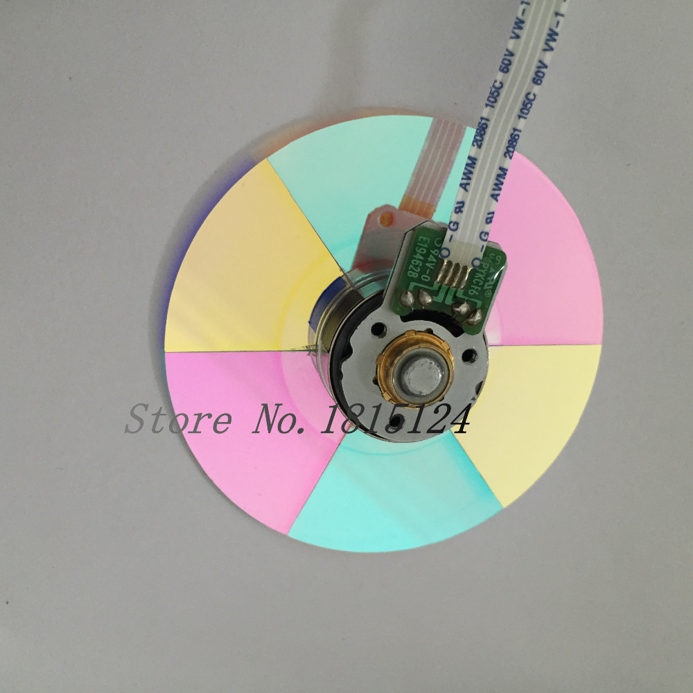 100% NEW Original Projector Color Wheel 6 color wheel color(58MM ) Serial number 102384721 new for dell 1420x 1430x dlp projector color wheel 6 segment diam 45mm page 7