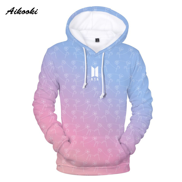 Aliexpress Com Buy Aikooki Printing 3d Bts Hoody Men Sweatshirt