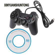 XINYUANSHUNTONG Game Accessory Dual Vibration Joystick Gamepad Wired USB Game Controller For PC Computer Laptop