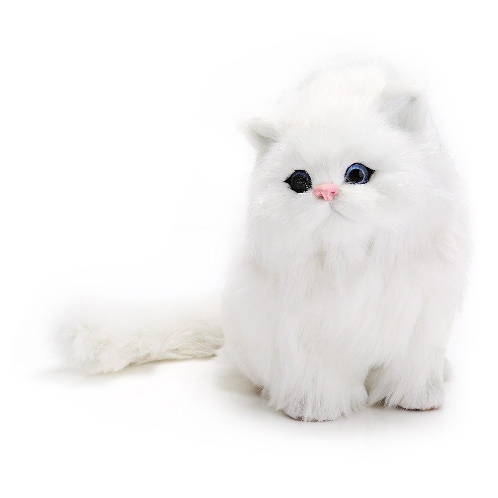 2017 New Plush Nano Doll Children Baby Cute Simulation Cat