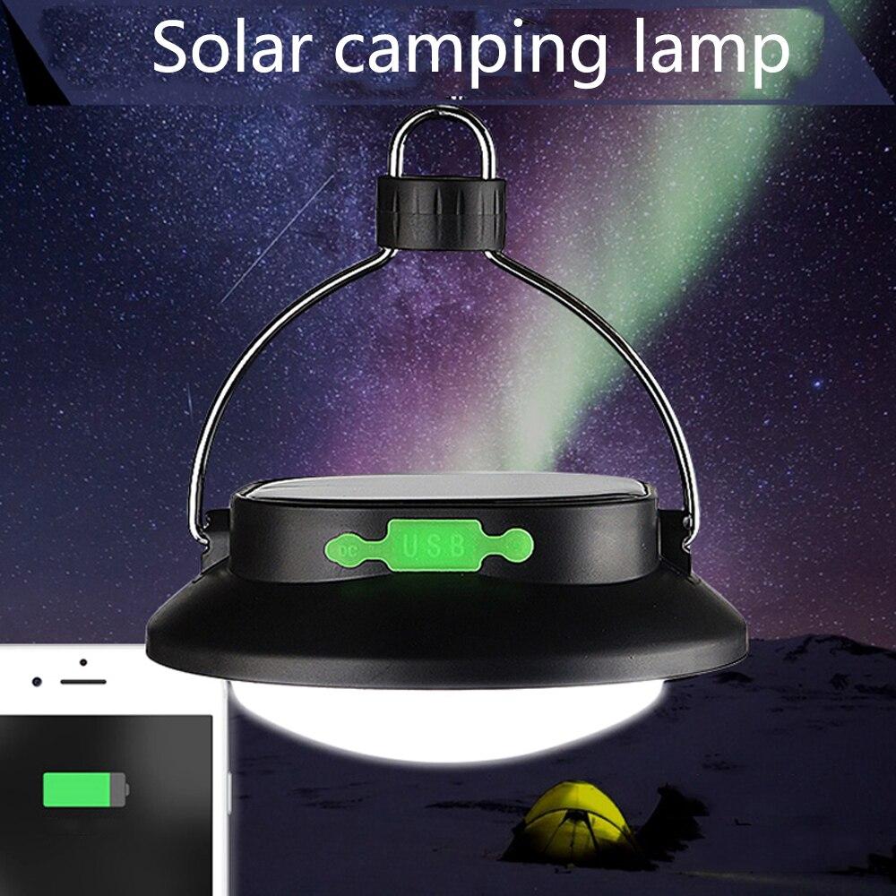 Solor PowerOutdoor Camping Light Emergency Lamp 12 LED Portable Tents Umbrella Night Lamp Hiking Lantern Household Lights