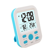 EAAGD Digital Electronic Humidity Meter Hygrometer Thermometer with Backlight Alarm Clock Humidity Gauge Temperature Humidity