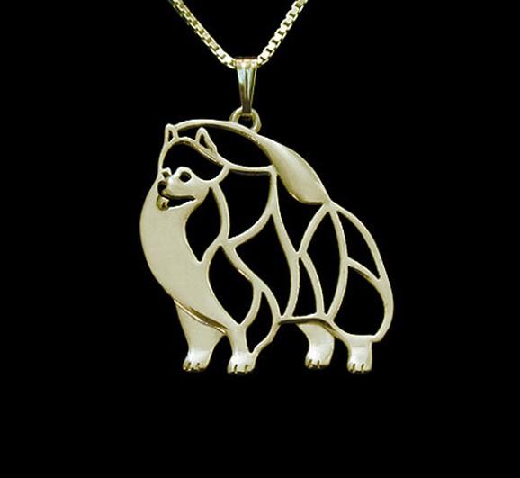 Ожерелье Подвеска для собаки из сплава в стиле бохо опт позолоченные