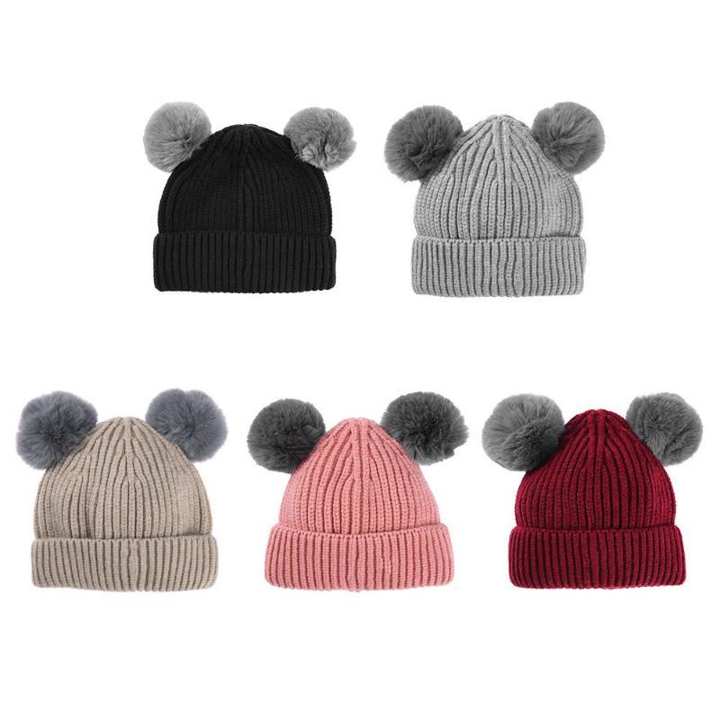 De punto de ganchillo sombreros de invierno mamá mujeres sombrero ...