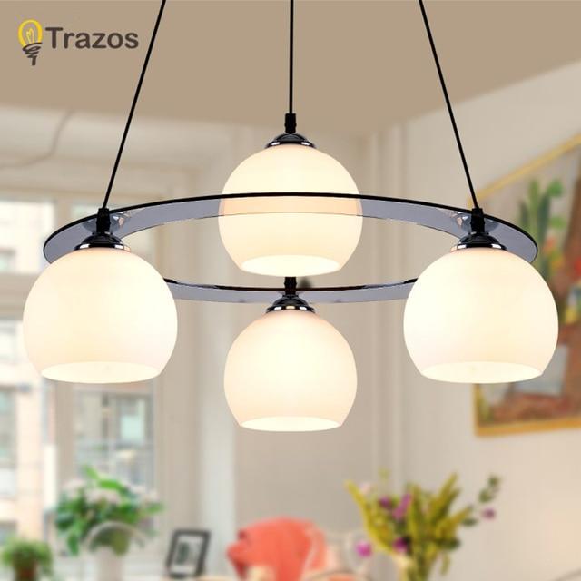 Moderno Led colgante lámparas para comedor redondo de acrílico del ...