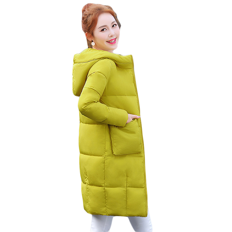 1 PC Plus Size Winter Jacket Women Winter Coat Hooded Parka Jaqueta Feminina Chaquetas Mujer Casacos De Inverno Feminino CM1646