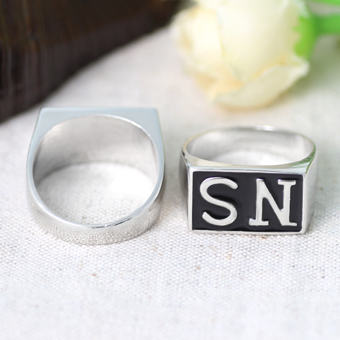 2015 New Arrival Fashion Gold And Silver Plated Enamel sons of
