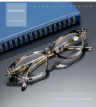Womens Rhinestone Farsighted Glasses