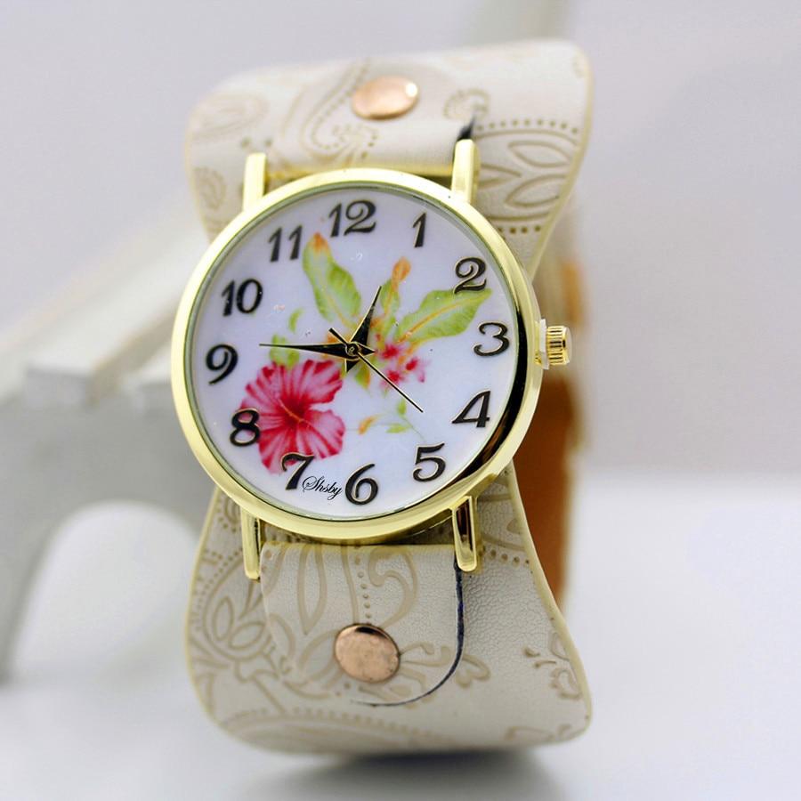 shsby Νέα Άφιξη Τυπωμένο δέρμα Βραχιόλι - Γυναικεία ρολόγια - Φωτογραφία 3