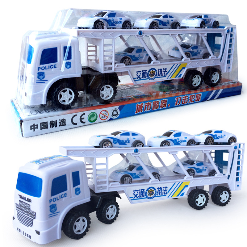 2017 best new diecast police cars toy model 1 truck hauler 5 small vehicle high