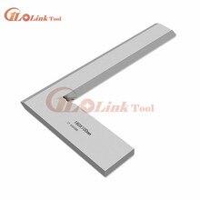 Угловая линейка на 90 градусов 160*100 мм метрический квадратный измеритель серебряного тона 125x80 мм Угловая линейка на 90 градусов