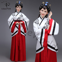 2017 Original chinese ancient costumes for women nationality dynasty clothing traditional hanfu cosplay costume