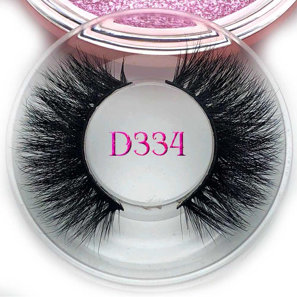 d215ed0498f Mikiwi Thick eyelashes 3D mink eyelashes D334 long lasting mink lashes  natural dramatic volume eyelashes extension faux eyelash