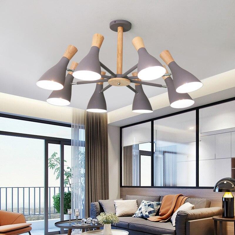 Nordique moderne loft suspension suspension lumière LED minimaliste pour cuisine Restaurant Bar salon chambre suspension plafonnier