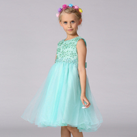 Retail Top Grade Embroidery Beading Floral Kids Prom Dresses Pageant Dresses For Little Girls Kids Flower