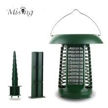 Mising AG001 2 В 1 светодиодной лампе мощностью 1,2 Вт для сада с подсветкой для москитов, солнечной панели, силовой наружный фотокатализатор, светодиодный дорожный свет для кемпинга