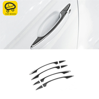 CAR MANGO Car Styling Outside Door Handle Bowl Cover Trim Frame Sticker Exterior Accessories For Audi A3 2017